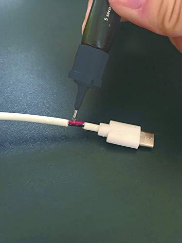 『ライトボンド5(ファイブ) UVライトで固まる 液体瞬間接着剤 液体プラスチック 』の6枚目の画像