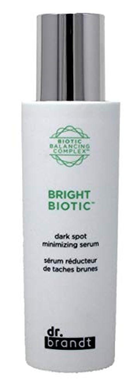 アヒル上に水分ドクターブラント Bright Biotic Dark Spot Minimizing Serum 50ml/1.7oz並行輸入品