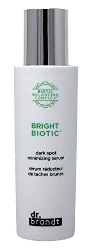 繊毛グレートオーク浴室ドクターブラント Bright Biotic Dark Spot Minimizing Serum 50ml/1.7oz並行輸入品