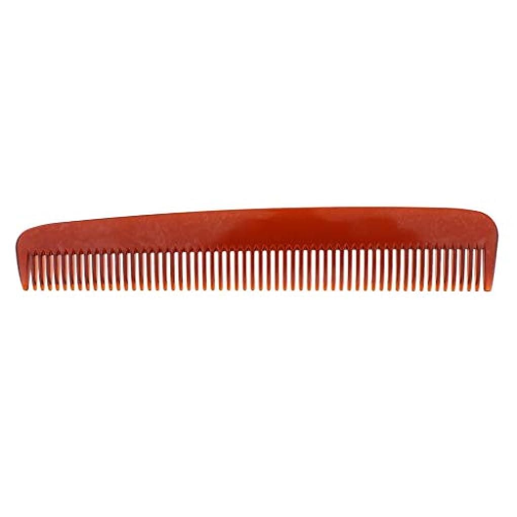 レベル高齢者爪ヘアカット 帯電防止櫛 ヘアコーム 3色選べ - 褐色