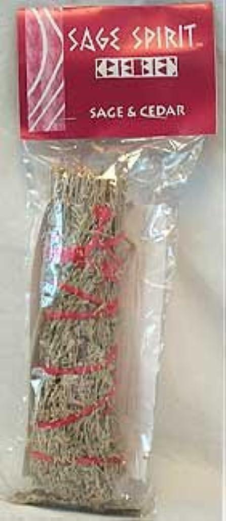 冬手マーチャンダイザーNew Ageセージ& Cedar Smudge Stick 7