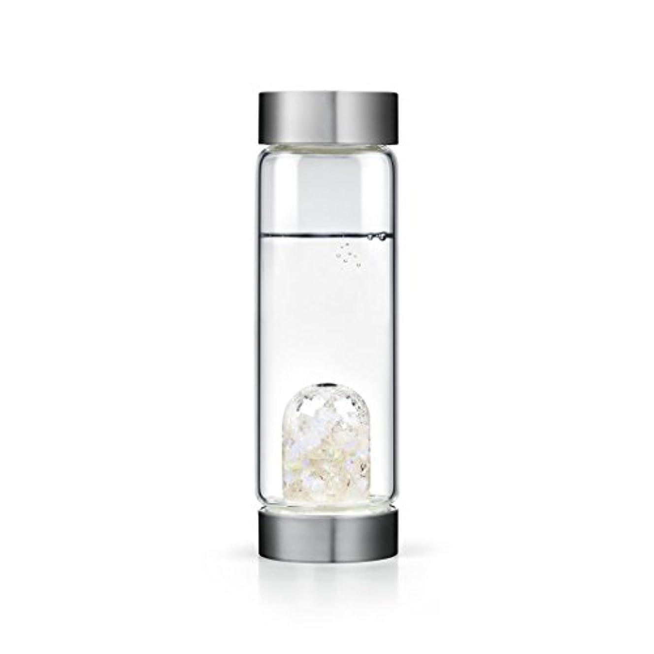 エゴイズムビスケット銀河Luna gem-waterボトルby VitaJuwel W / Freeカリフォルニアホワイトセージバンドル 16.9 fl oz