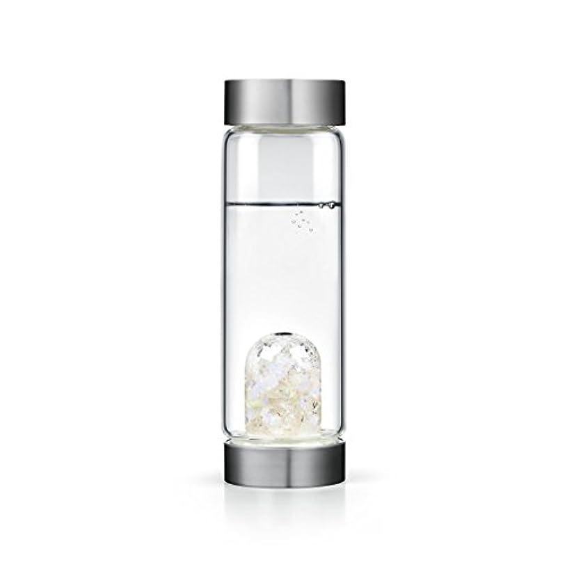 物理的にクルーアジテーションLuna gem-waterボトルby VitaJuwel W / Freeカリフォルニアホワイトセージバンドル 16.9 fl oz