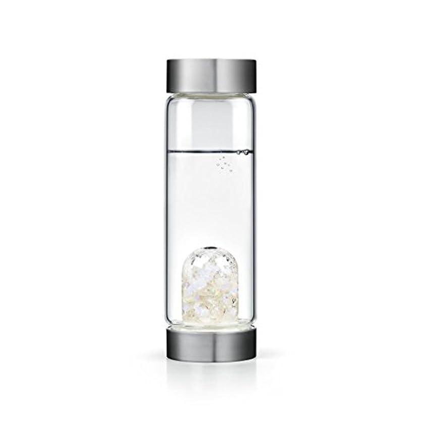 とげのある狂う緊張Luna gem-waterボトルby VitaJuwel W / Freeカリフォルニアホワイトセージバンドル 16.9 fl oz