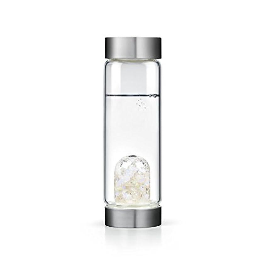 許す名前を作る手のひらLuna gem-waterボトルby VitaJuwel W / Freeカリフォルニアホワイトセージバンドル 16.9 fl oz
