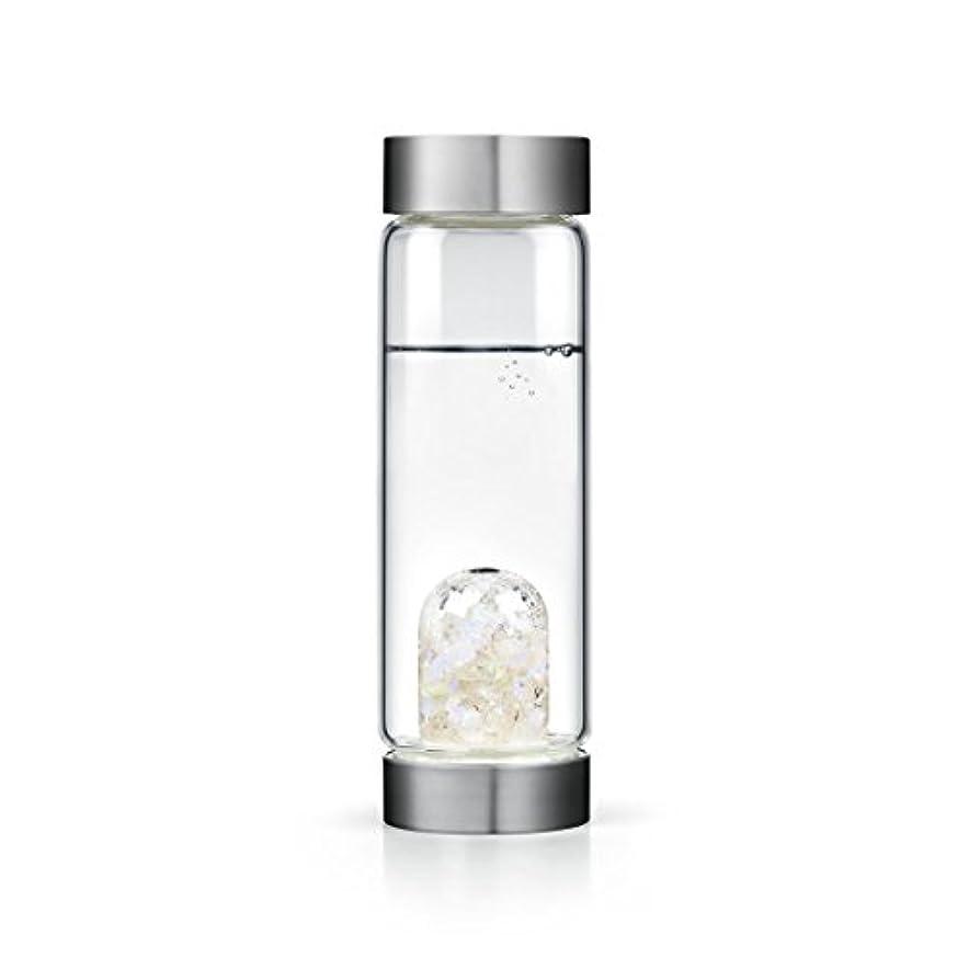 カストディアン今惨めなLuna gem-waterボトルby VitaJuwel W / Freeカリフォルニアホワイトセージバンドル 16.9 fl oz