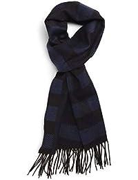 [カナーリ] メンズ マフラー・ストール・スカーフ Canali Check Silk & Cashmere Scarf [並行輸入品]