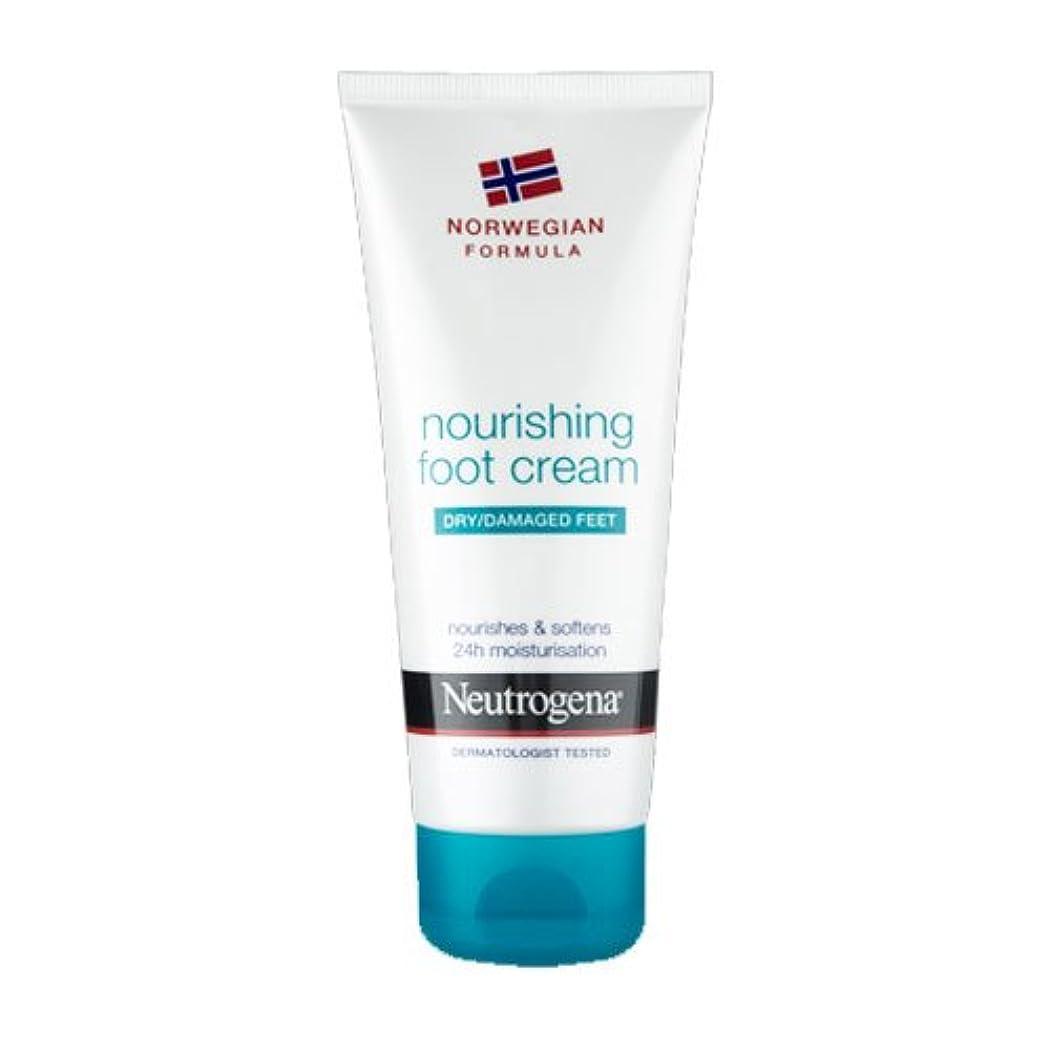 アンタゴニストのりくすぐったいNeutrogena Nourishing Foot Cream 100ml [並行輸入品]