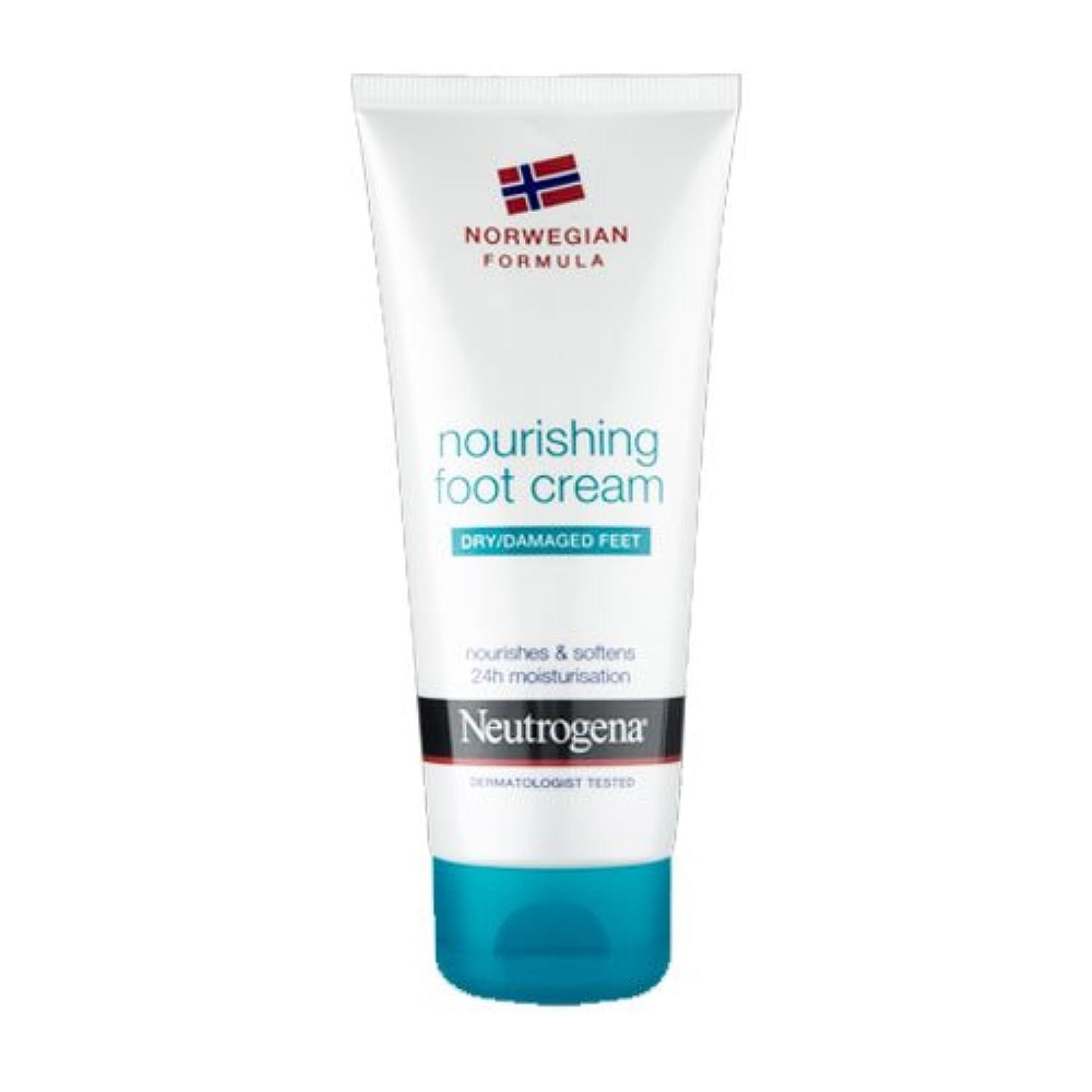翻訳者ビーム効能あるNeutrogena Nourishing Foot Cream 100ml [並行輸入品]