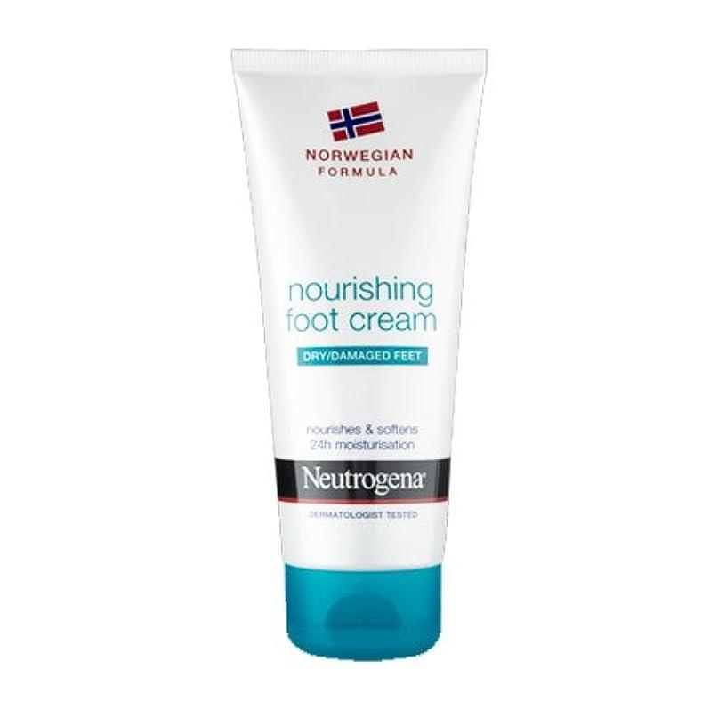 満たす高さ規模Neutrogena Nourishing Foot Cream 100ml [並行輸入品]