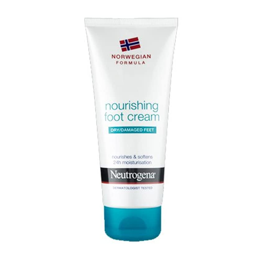 浸漬無効天のNeutrogena Nourishing Foot Cream 100ml [並行輸入品]