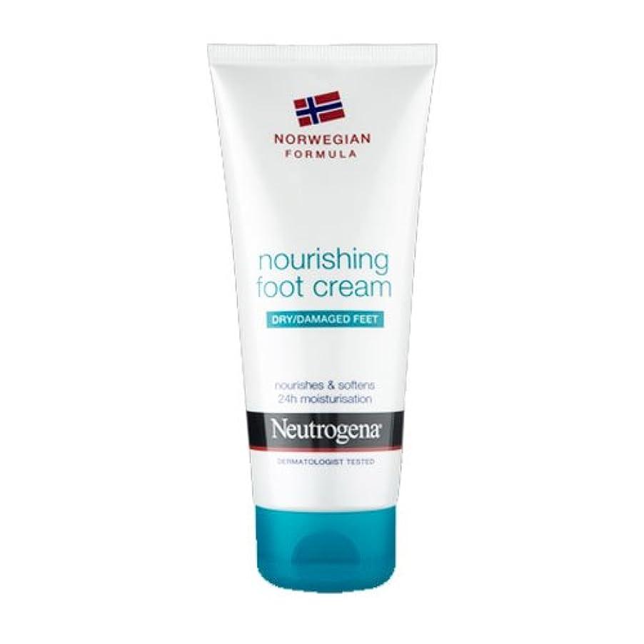 保持不利冷蔵庫Neutrogena Nourishing Foot Cream 100ml [並行輸入品]