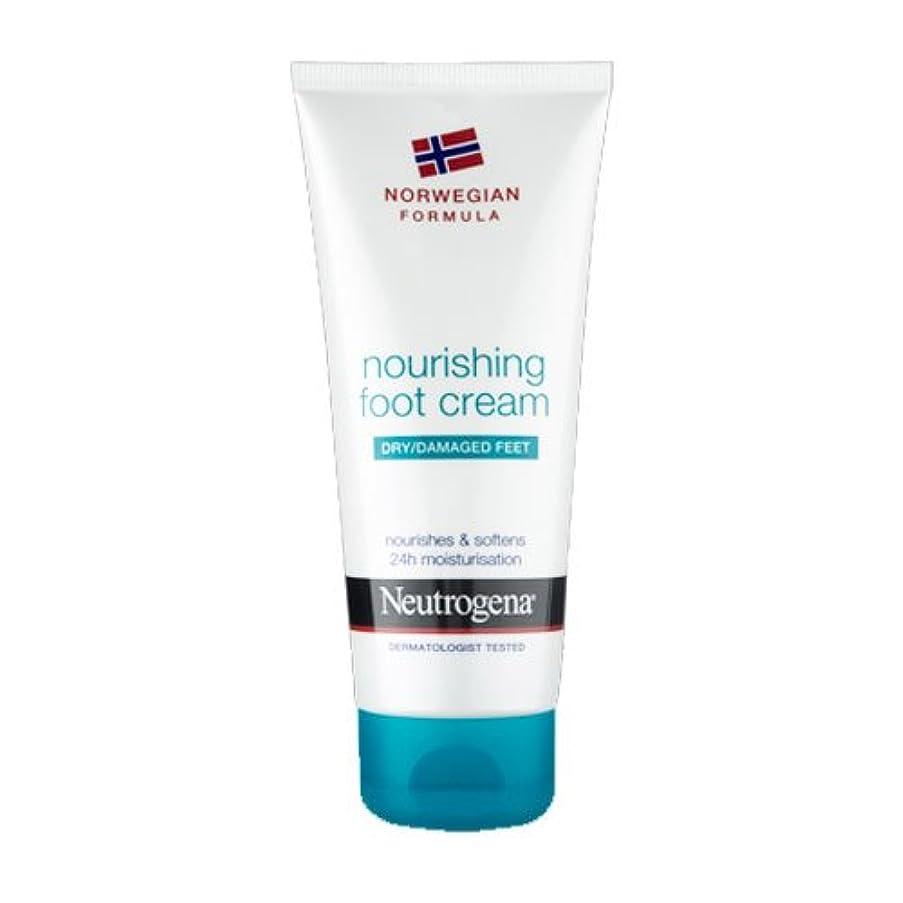 テザー広告する剥ぎ取るNeutrogena Nourishing Foot Cream 100ml [並行輸入品]