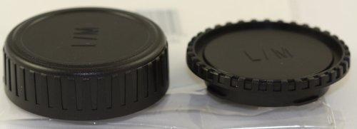 JJC製 1 Nikon 1 V1 J1 用 1マウント レンズリアキャップ カメラボディキャップ セット(BF-N1000 LF-N1000互換)