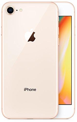 Apple 2017 iPhone 8 SIMフリー 4.7インチ AR対応【米国版SIMフリー】 (256GB, ゴールド) [並行輸入品]