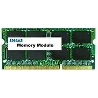 I-O DATA 増設メモリ ノートPC用 8GB PC3-12800/DDR3/204pin/無期限保証/SDY1600L-8G