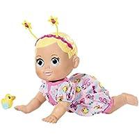 赤ちゃん生まれ825884変な顔 - クロールインタラクティブ人形、36 cm
