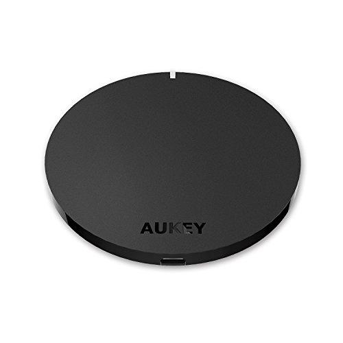 AUKEY Qi ワイヤレス充電器 無線チャージャー Galaxy S6 / S6 edge Nexus 4 / 5 / 6 / 7 (第2世代 2013) / LG G3 その他Qi対応機種 Qi充電パッド 置くだけ充電 無接点充電器 スマホ充電器 LC-C2