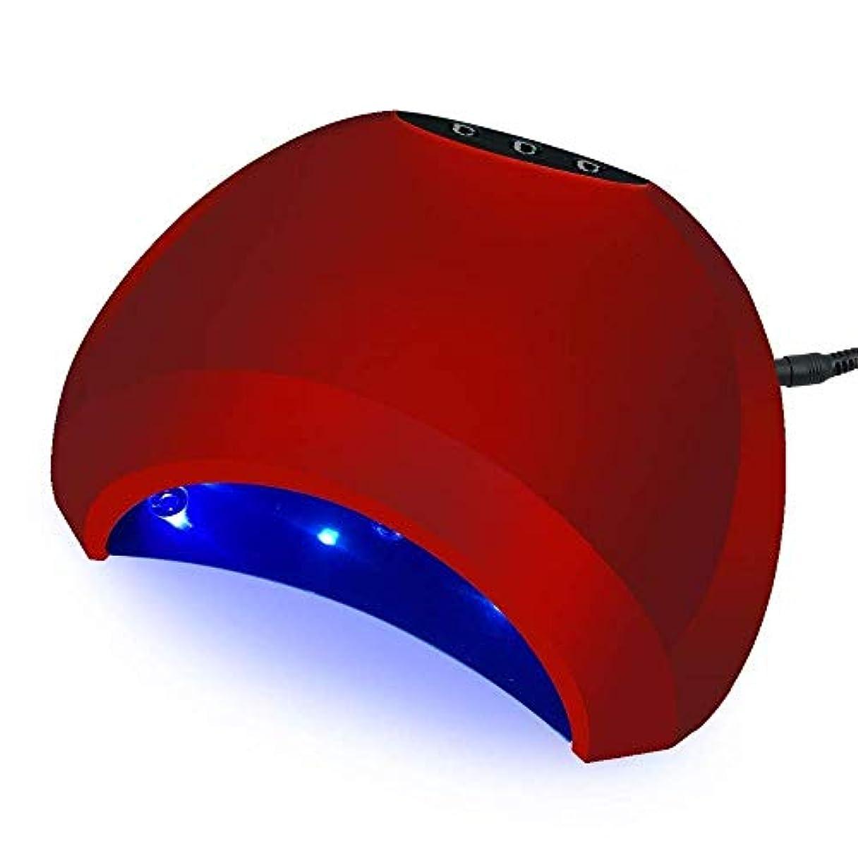 たまにボトル魅惑的なネイルドライヤー2019新しい48W太陽ランプマニキュア乾燥用UV LEDランプ用ネイルドライヤーネイルマニキュア機用ネイルポリッシュアイスランプ