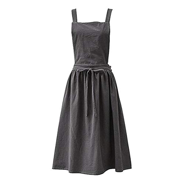 ゴージャスビルマイブニングAprons for the Kitchen Simple Washed Cotton Uniform Aprons for Woman Kitchen apron Cooking Coffee Shop apron for...