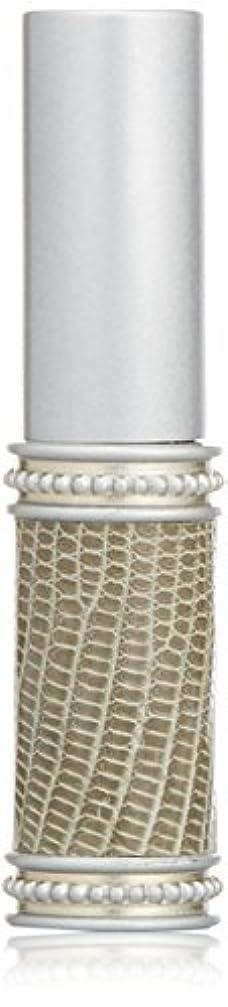 伝染性の匿名シュリンクヒロセアトマイザー メタルリザード 28200 SV (メタルリザード シルバー) リザード本革巻き
