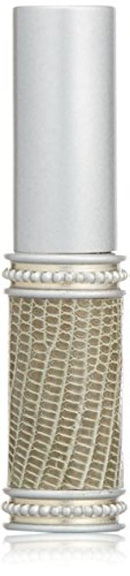 とらえどころのない甘い社会科ヒロセアトマイザー メタルリザード 28200 SV (メタルリザード シルバー) リザード本革巻き