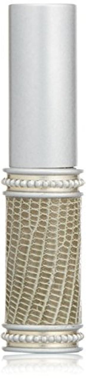 朝省限りヒロセアトマイザー メタルリザード 28200 SV (メタルリザード シルバー) リザード本革巻き
