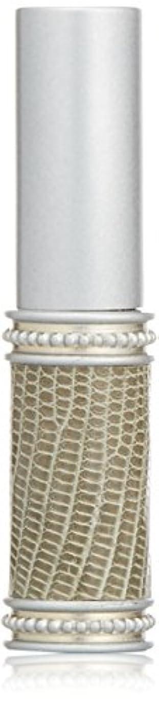 一瞬ヒューバートハドソン束ねるヒロセアトマイザー メタルリザード 28200 SV (メタルリザード シルバー) リザード本革巻き