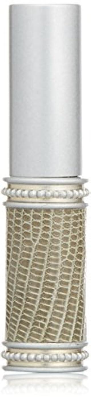 陰謀反毒住むヒロセアトマイザー メタルリザード 28200 SV (メタルリザード シルバー) リザード本革巻き
