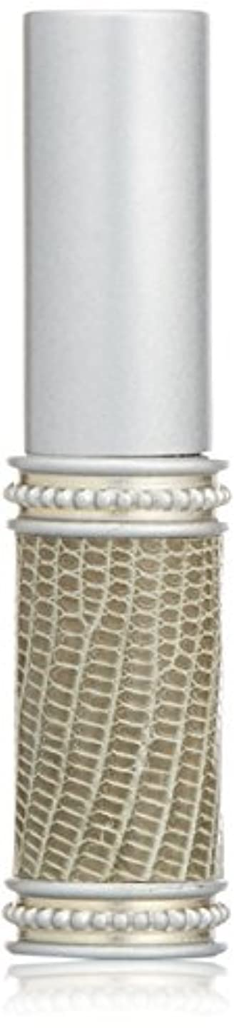 統合する乱すペルメルヒロセアトマイザー メタルリザード 28200 SV (メタルリザード シルバー) リザード本革巻き