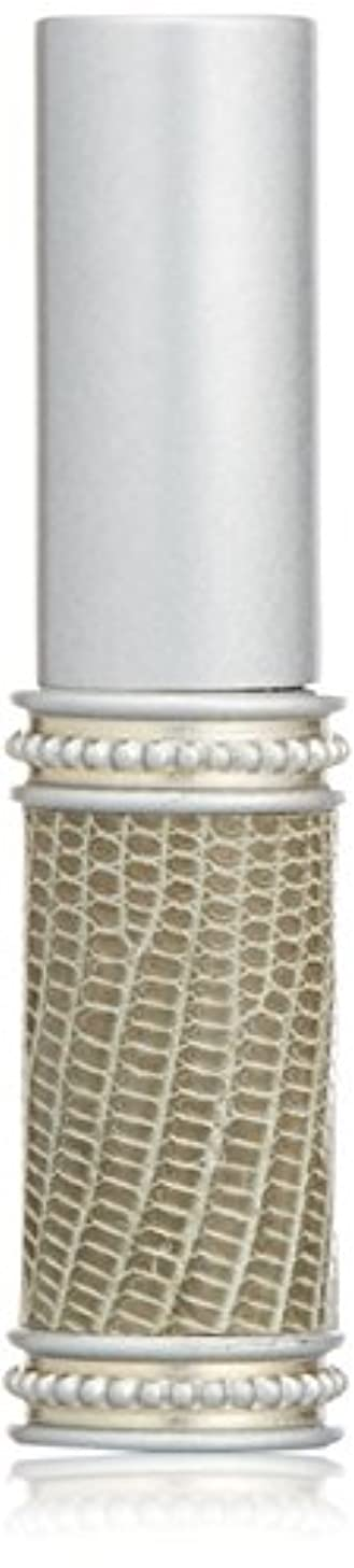 聖域香り達成するヒロセアトマイザー メタルリザード 28200 SV (メタルリザード シルバー) リザード本革巻き