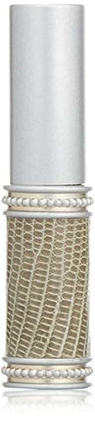ミケランジェロ編集者拮抗するヒロセアトマイザー メタルリザード 28200 SV (メタルリザード シルバー) リザード本革巻き