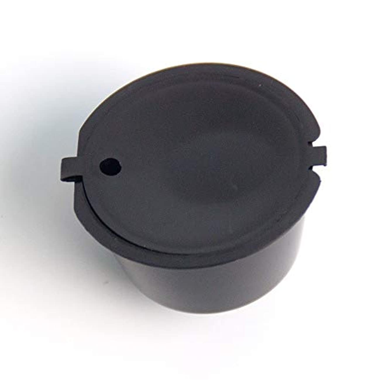 潜むお客様公園Maxcrestas - 1個11色プラスチック詰め替えコーヒーカプセルカップ200タイムズネスカフェドルチェグストフィルターバスケットのカプセルのための再利用可能な互換性
