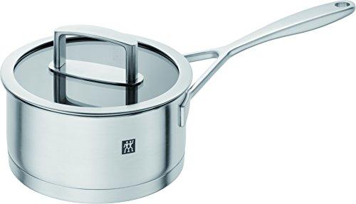 Zwilling ツヴィリング 「 バイタリティ ソースパン 16cm 」 ステンレス 片手 鍋 底厚 3層構造 IH対応 食洗器対応 10年保証 66465-160