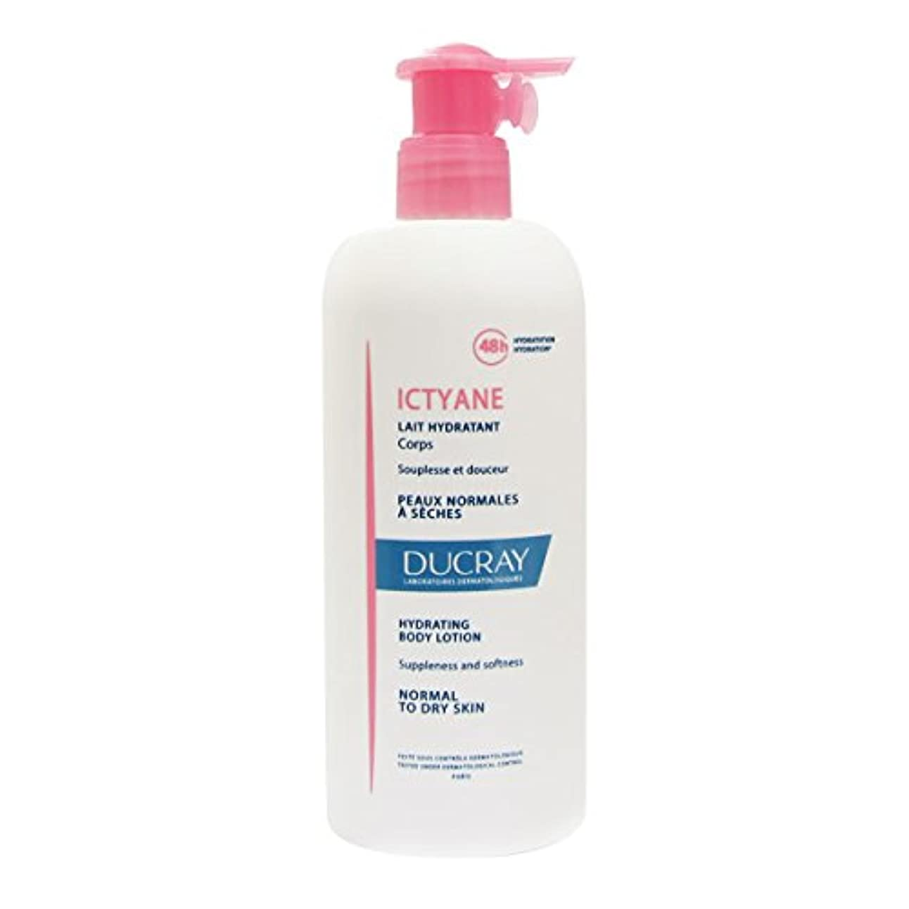 郵便物縫うくびれたDucray Ictyane Hydrating Protective Lotion 400ml [並行輸入品]