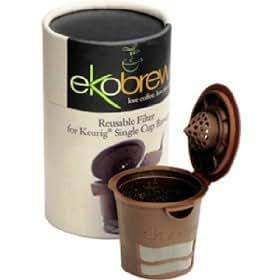 Ekobrew 詰め替え可能 Kカップコーヒー Keurig 用カップ 並行輸入品