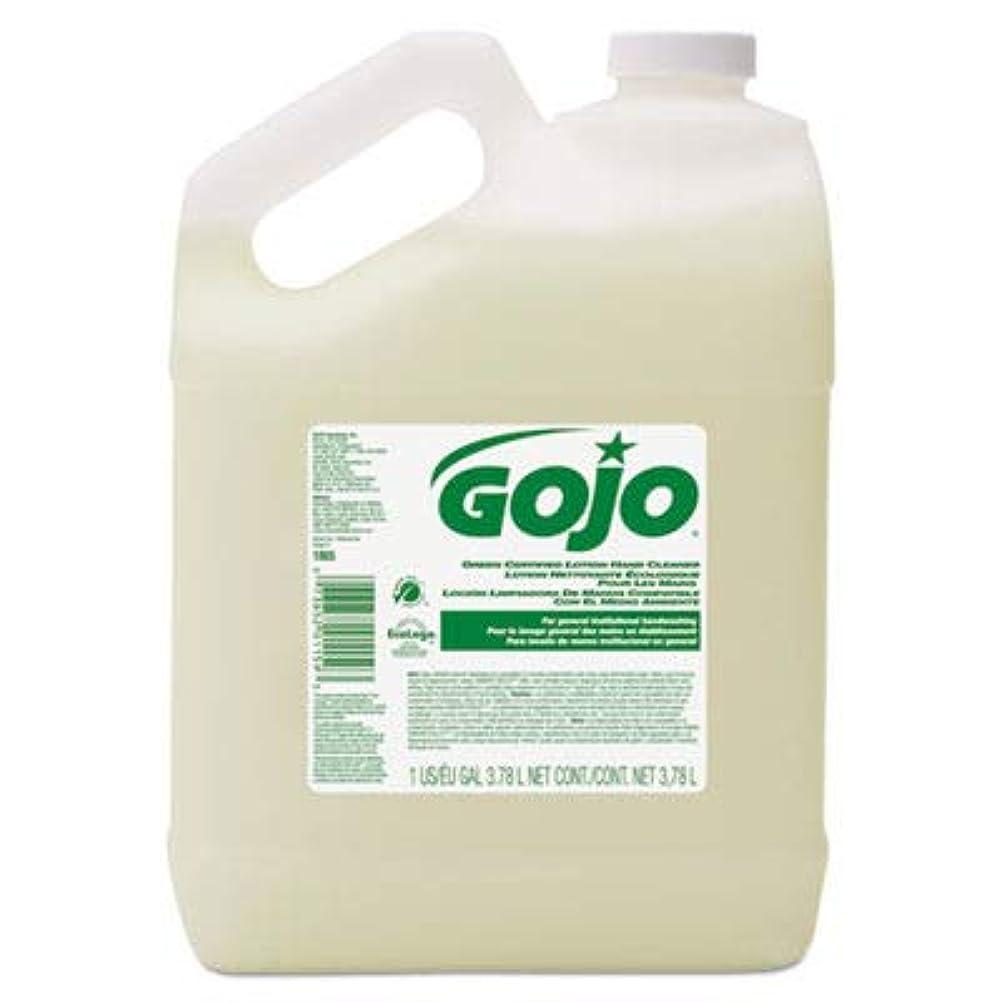 アクティビティクレジット追記goj186504 – グリーン認定ローションハンドクリーナー、1ガロンボトル、花柄香り