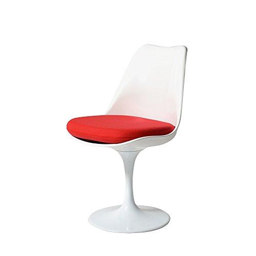 RoomClip商品情報 - チューリップチェア(Tulip Chair) レッド ファブリッククッション エーロ・サーリネン