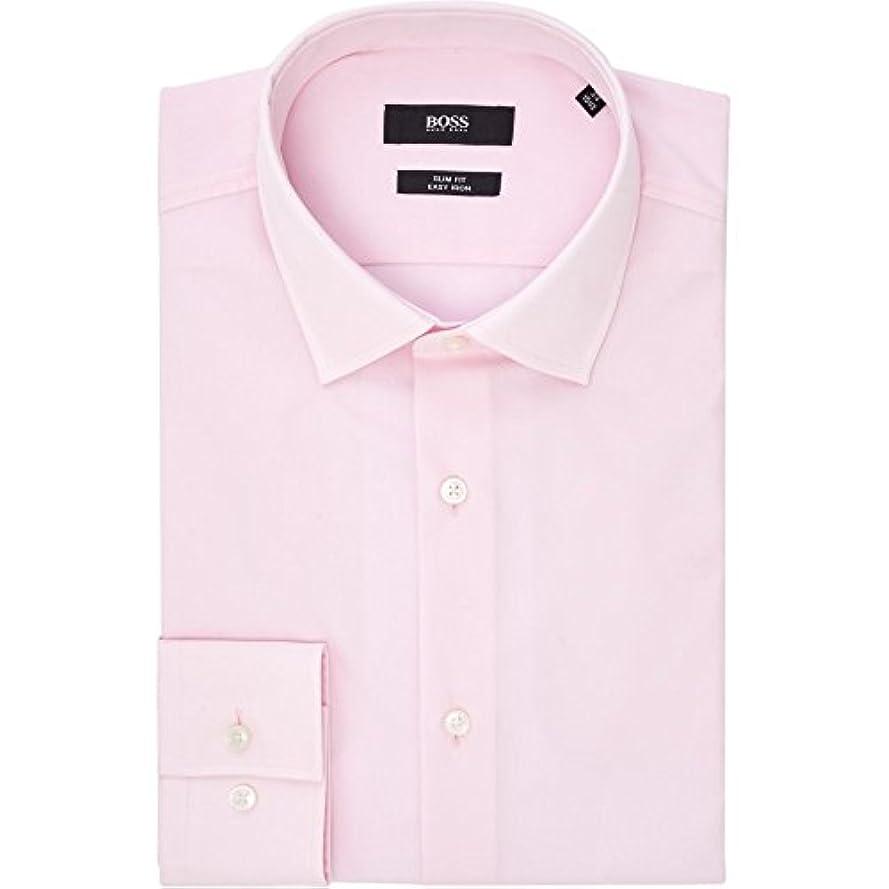 地質学強化リーチ(ヒューゴ ボス) Hugo Boss メンズ トップス シャツ Slim Fit Classic Poplin Shirt [並行輸入品]