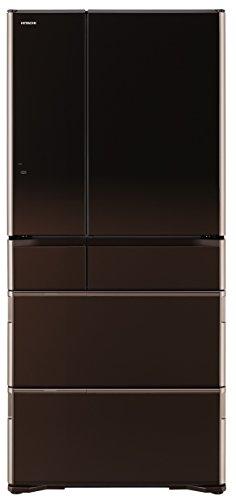 日立 冷蔵庫 グラデーションブラウン R-WX6700G ZT