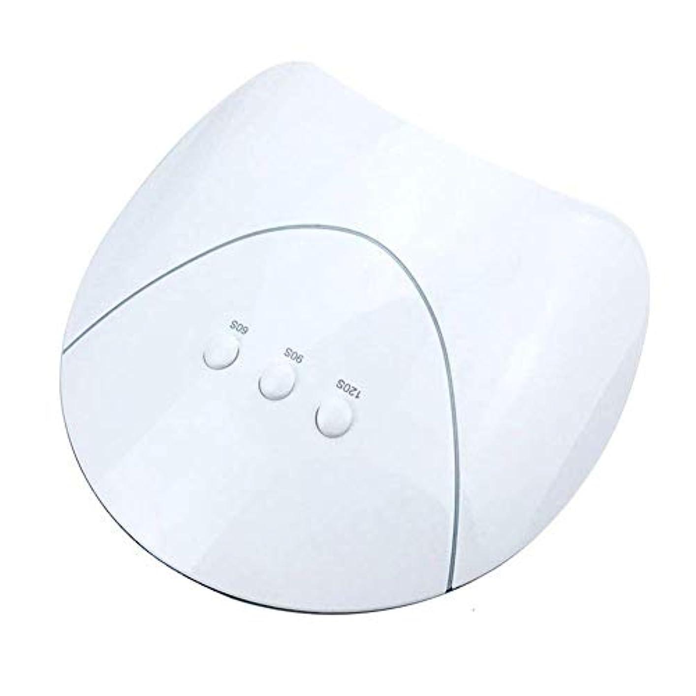 高いコンチネンタル意図ネイルドライヤー用ネイルドライヤーランプ36Wネイル用UVドライヤーランプマニキュア乾燥用ネイルポリッシュアイスランプネイルマニキュア機USB充電、写真の色