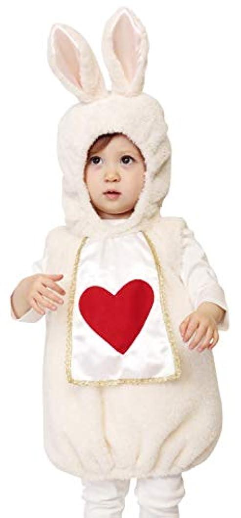 見落とすロマンチック急行するマシュマロラパン うさぎ コスプレ 着ぐるみ ベビー 80cm  ホワイト (マシュマロ)