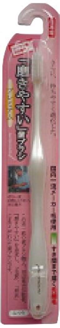 飼い慣らす沼地ミット磨きやすい歯ブラシプレミアム(ふつう) 1P*12本入り