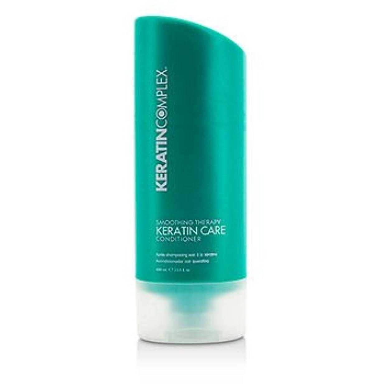 花輪天かまど[Keratin Complex] Smoothing Therapy Keratin Care Conditioner (For All Hair Types) 400ml/13.5oz