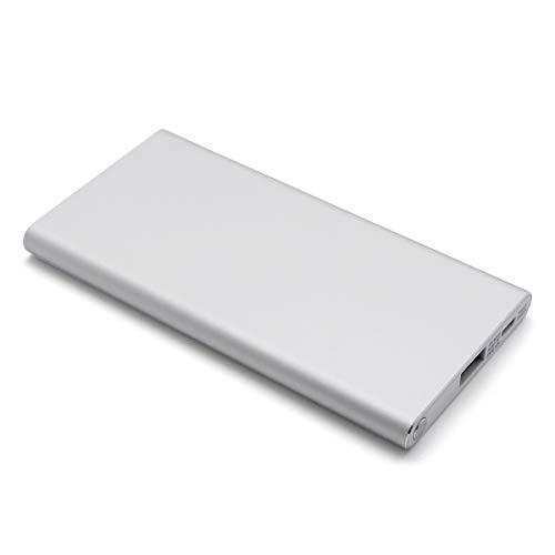 cheero Slim 5000mAh(シルバー) IOT機器対応 薄型モバイルバッテリー Auto-IC機能搭載 急速充電対応 アルミボディー CHE-104-SI-IOT
