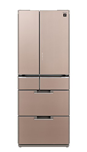 シャープ 冷蔵庫 フレンチドア 耐震ロック機能付 プラズマクラ...
