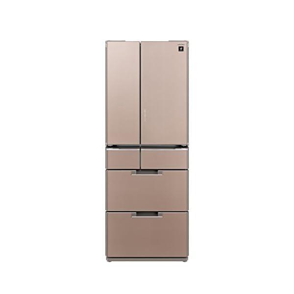 シャープ 冷蔵庫 フレンチドア 耐震ロック機能付...の商品画像
