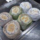焼き餅三味(白餅・ヨモギ餅・日干番茶餅)