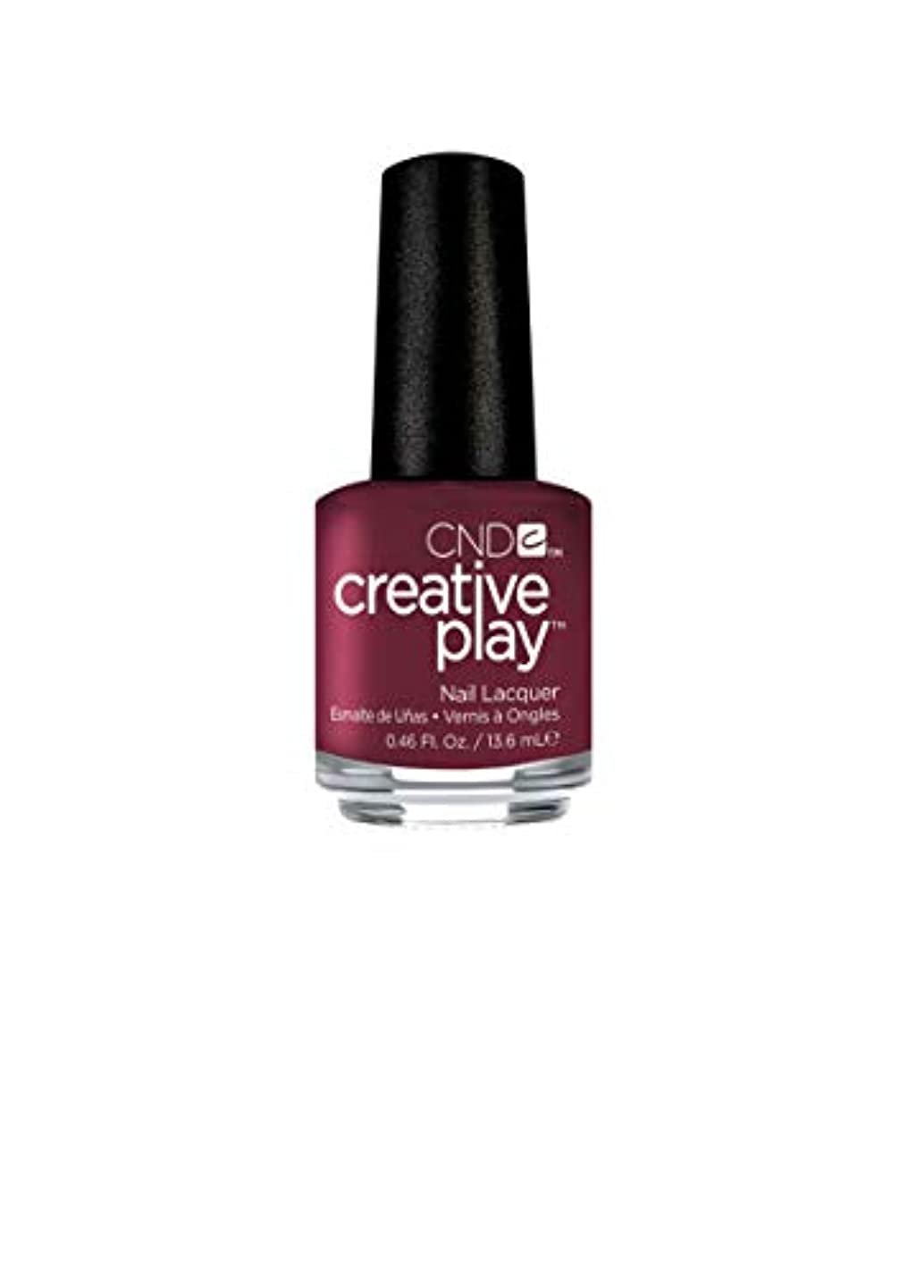 チョコレート描く追記CND Creative Play Lacquer - Currantly Single - 0.46oz / 13.6ml