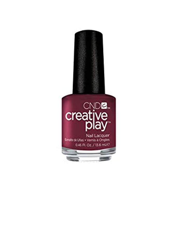 滴下購入極めて重要なCND Creative Play Lacquer - Currantly Single - 0.46oz / 13.6ml